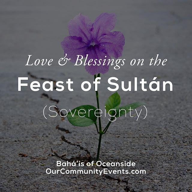 test Twitter Media - Love & Blessings on Feast of Sultán (Sovereignty) from Oceanside, Ca! . . #feast #Sovereignty #BahaiFeast #19DayFeast #Bahai #BahaiLife #Beauty #Unity #Love #Peace #blessings #oceanside #Ca: https://t.co/E00sMnN51T https://t.co/N86z3IMeDv