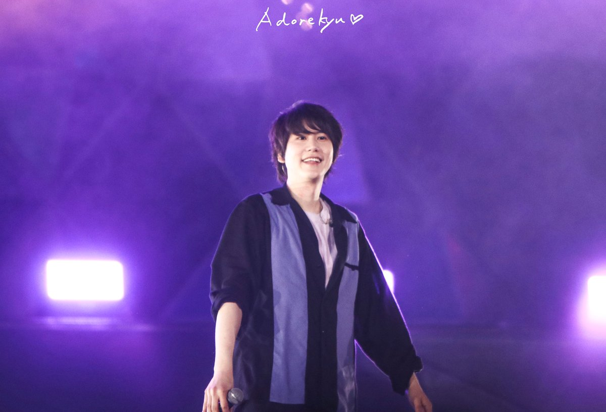 200119 SS8 Macau   You're the colour of my season 💟  #KYUHYUN #규현 #圭贤 #キュヒョン #슈퍼주니어 #SUPERJUNIOR #SS8inMacau #SS8Macau