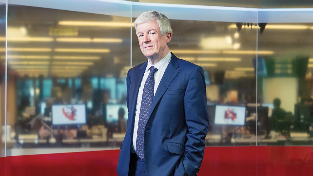 Tony Hall says he's stepping down as BBC Director-General in the summer