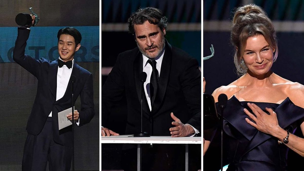RT @THRAwards: 2020 SAG Awards: The Most Memorable Moments | THR News