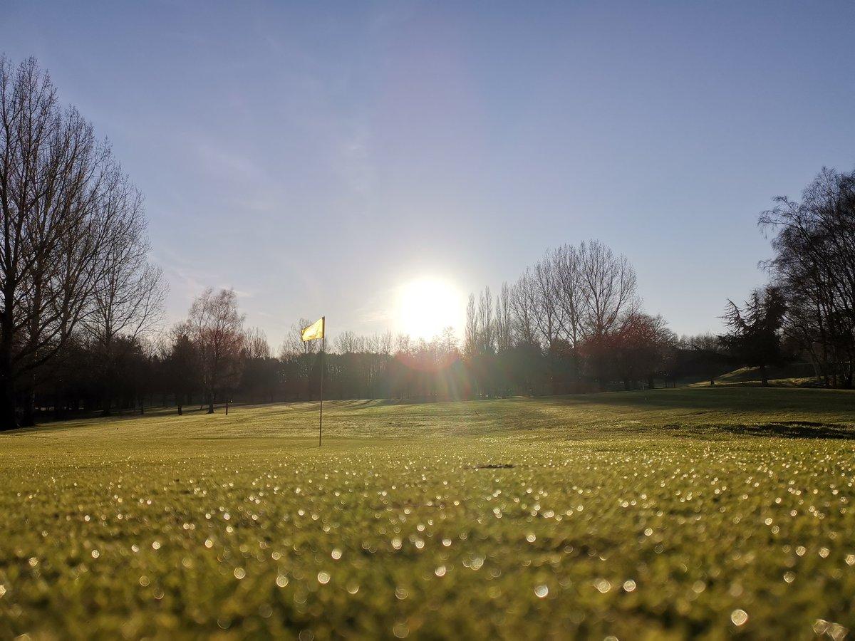 test Twitter Media - 😍⛳☀️ Stunning winter sun 😎 #FrontCoverWorthy @MidlandsGolfer @TheClub @IPGCourseupdate https://t.co/VbaBTPkyXz