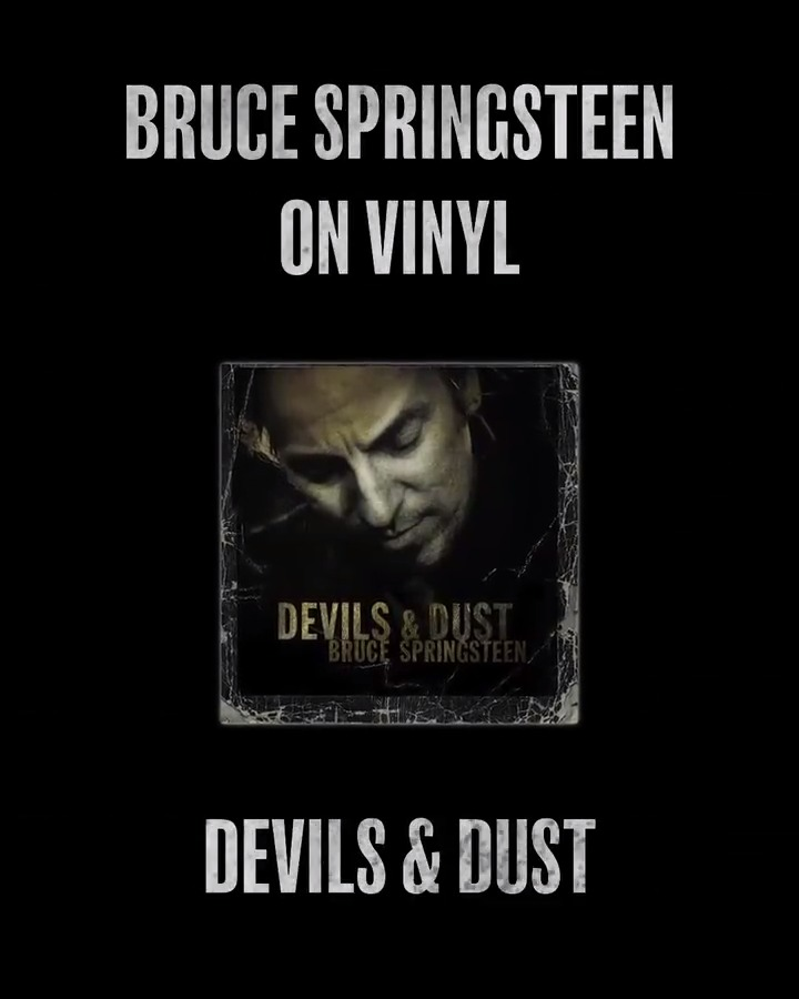 'Devils & Dust' remains one of the starkest studio albums Bruce Springsteen ever released, recalling the spare acoustic-with-band approach of 'The Ghost Of Tom Joad' a decade earlier. On 2.21, it will be released on 2LP vinyl. Pre-order now