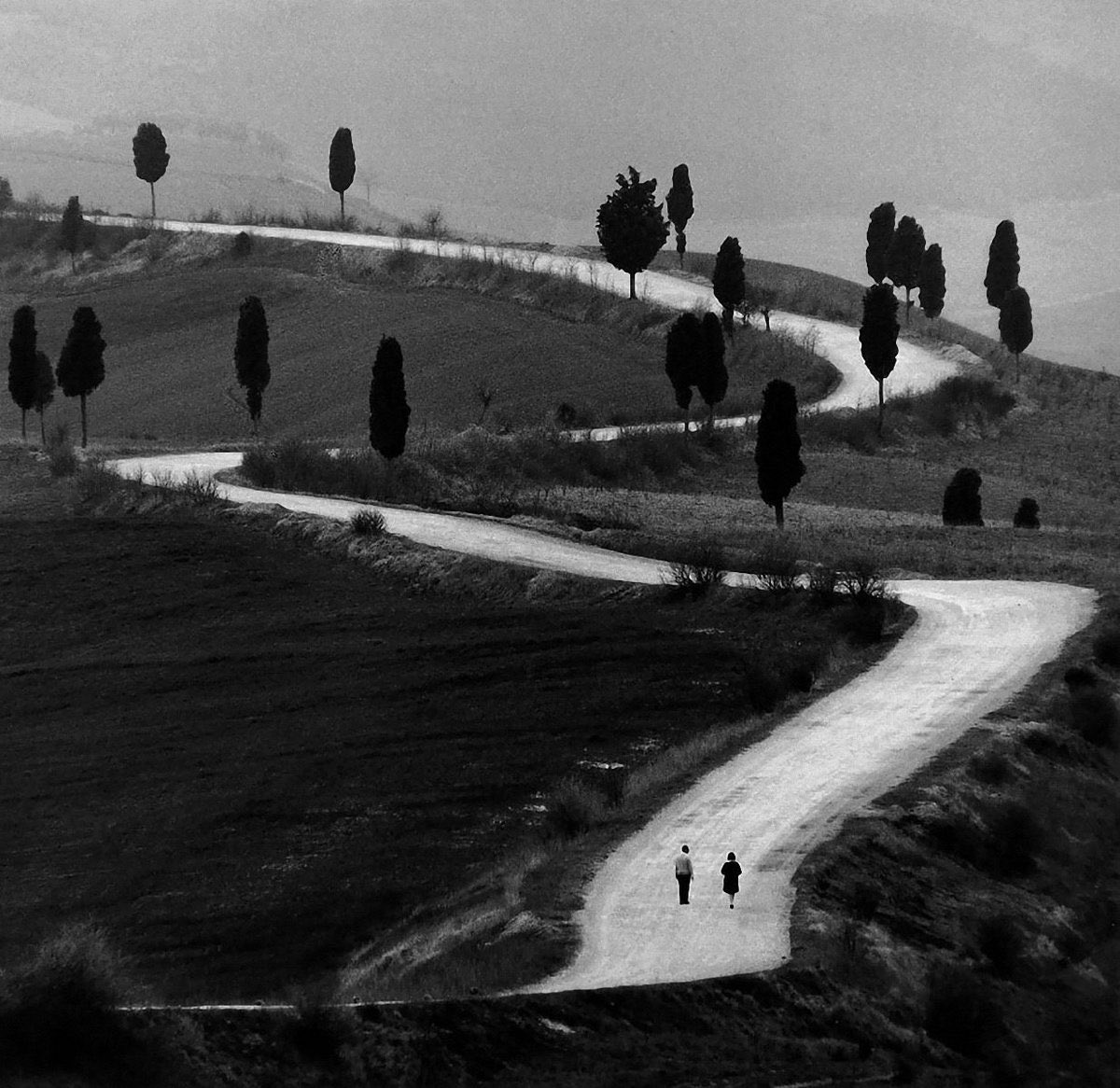""" Marcher sans rien atteindre jusqu'à devenir chemin ""  Anise Koltz   Berengo Gardin https://t.co/101bzFw77I"