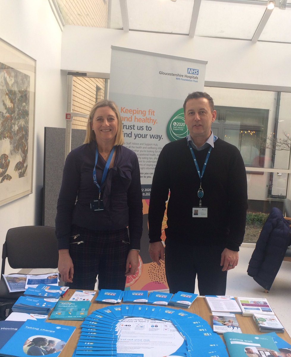 test Twitter Media - Staff are invited to visit this stand in the atrium at GRH for the next three days. Ward visits planned & the stand will be at CGH next week. It's a simple test and support is available. Come down and see them if you can #diabetes @2020_hub https://t.co/5U8xQ4bSo2