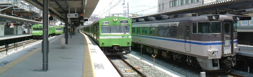 test ツイッターメディア - 大和路線も奈良線も103系がいっぱい。2006年5月31日 奈良駅にて。#103系 #大和路線 #奈良線 #キハ181 https://t.co/lz3ZdutY91