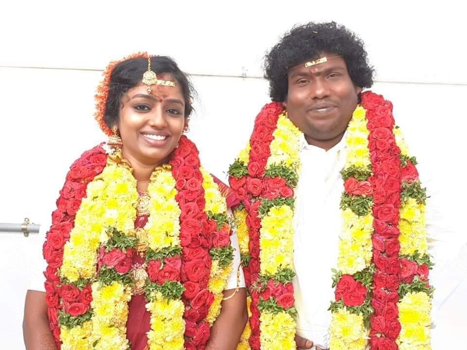 Happy married life @iYogiBabu machan 😍😍😍😍😍😍😍😍