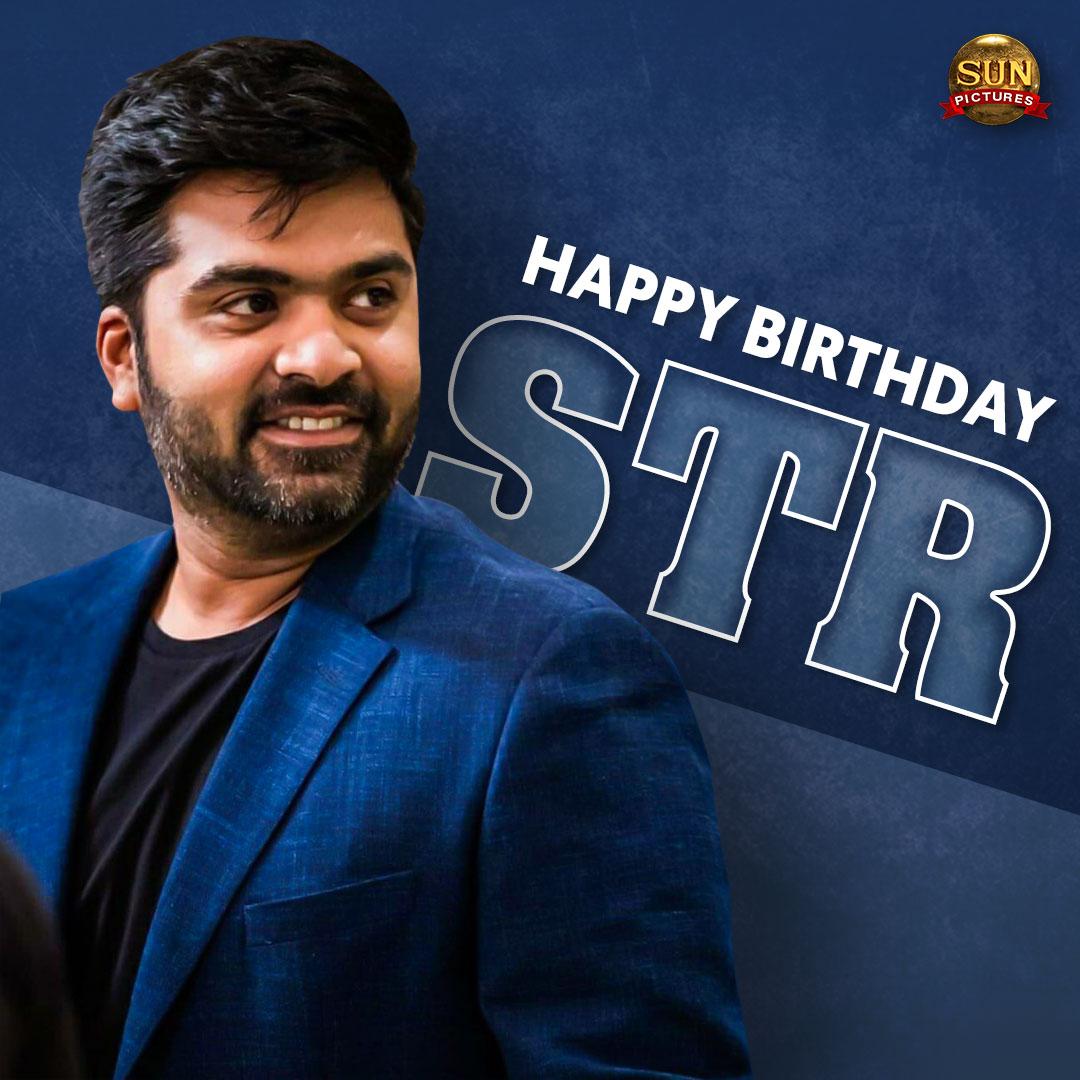 Wishing the talented actor #STR a very happy birthday!  #HappyBirthdaySTR