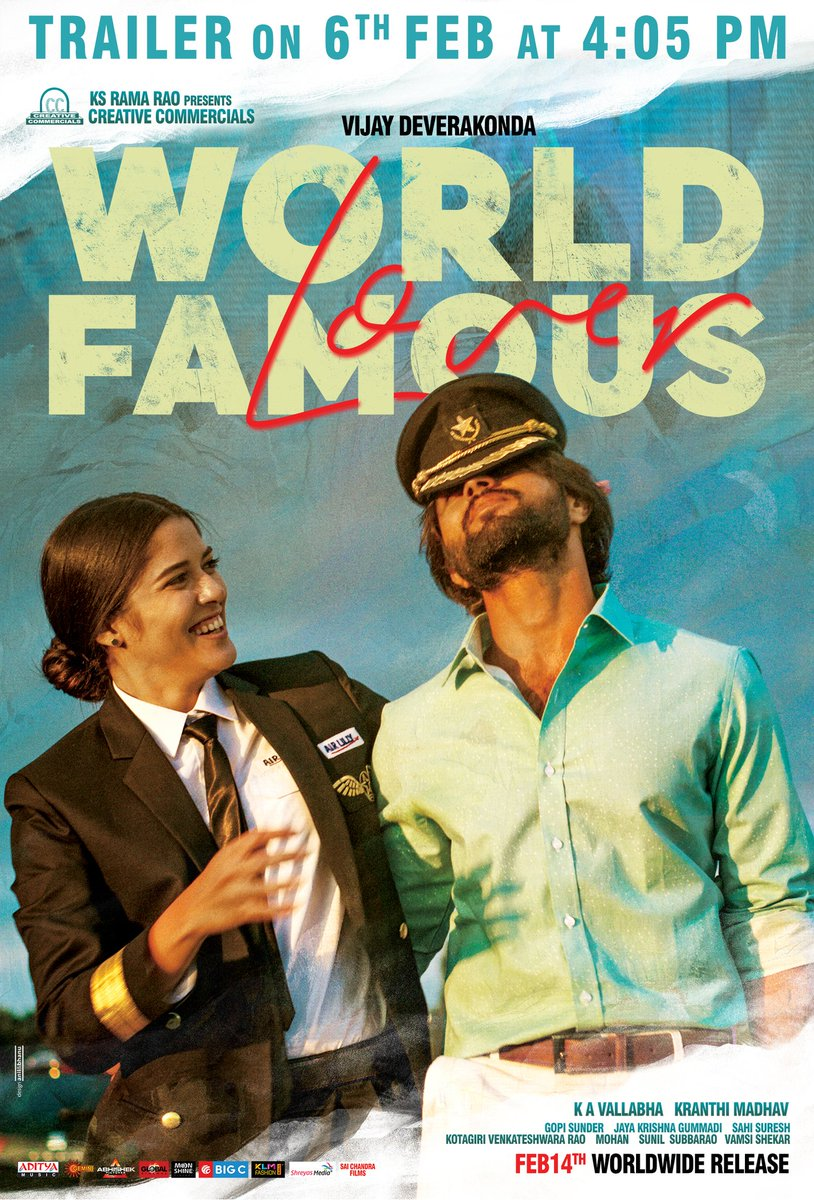 World 2 - Everyone's Dream. Love in Paris.  #WorldFamousLover This Valentine's Day - Feb14th.  Trailer on Feb 6th.