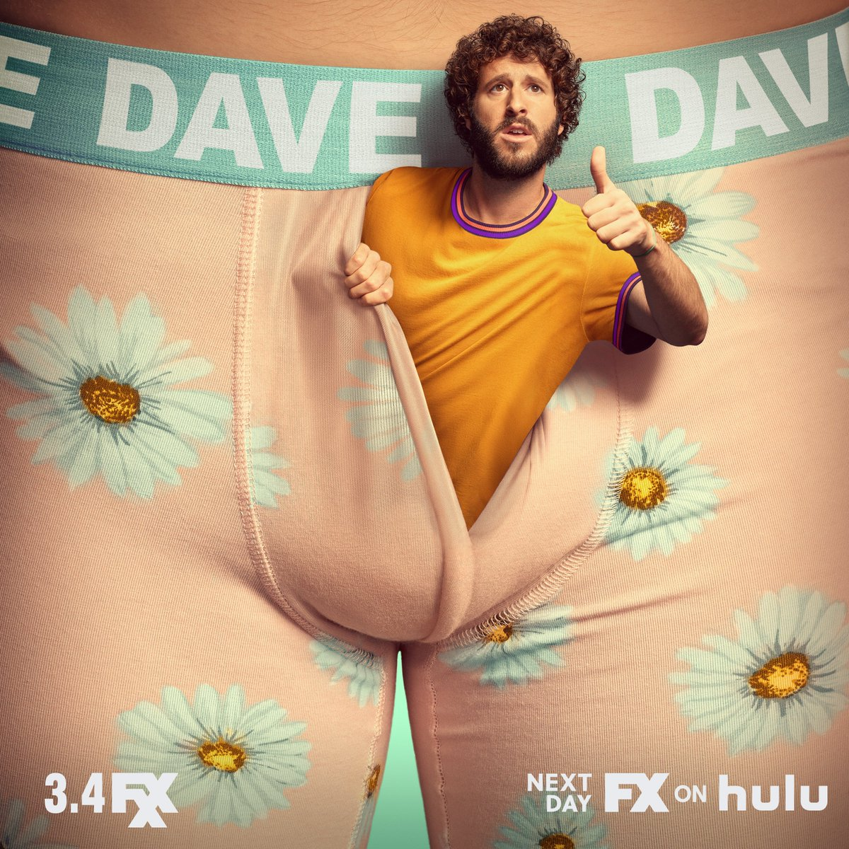 have you met the guy behind the guy? DAVE, starring @lildickytweets premieres march 4 on fxx & next day on #FXonHulu