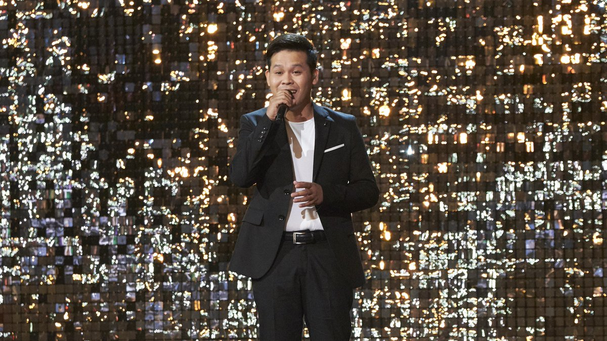 The clouds parted the second time @marcelitopomoy8 graced the #AGTChampions stage. 👼