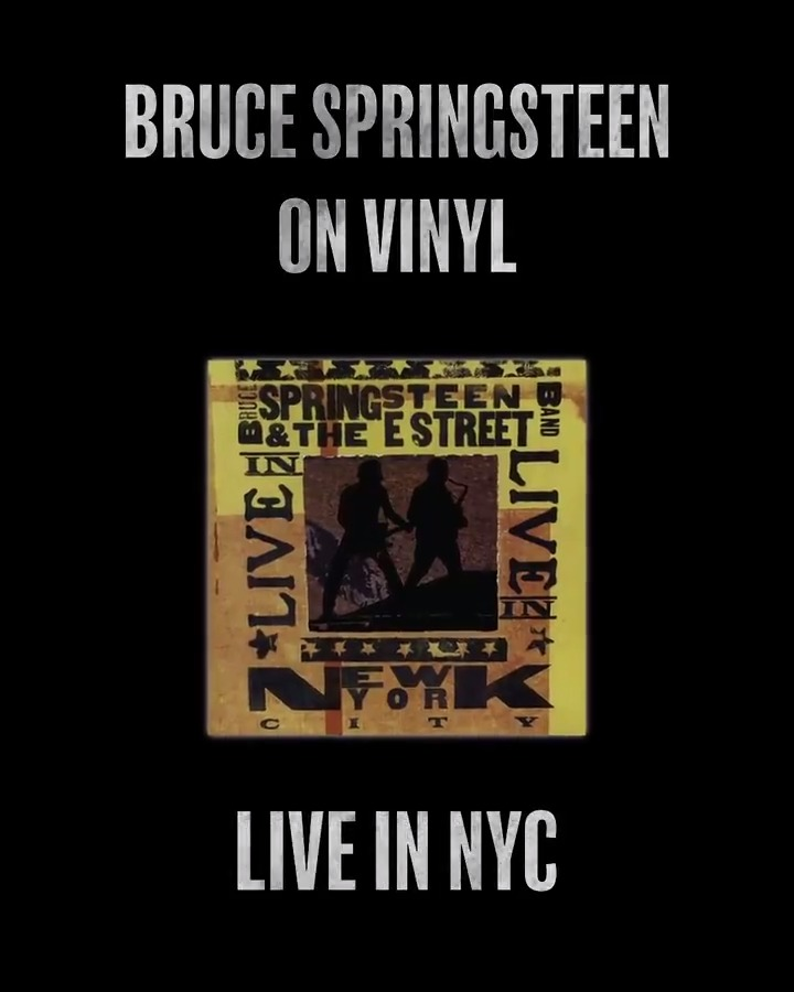 Bruce Springsteen & The E Street Band's triumphant reunion tour was one of rock's great moments at the end of the 20th century. Now, 'Live In New York City,' recorded at @TheGarden in the summer of 2000, is repressed on vinyl on 2.21. Pre-order now: