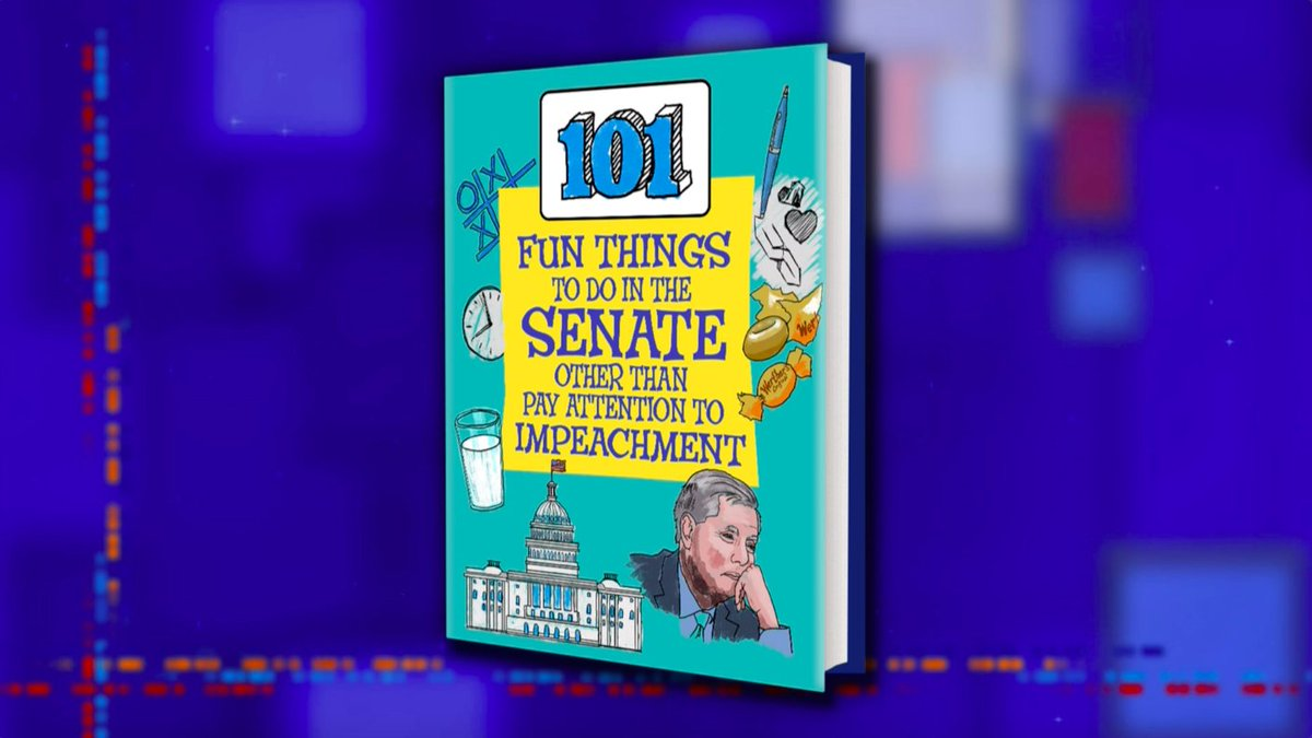 For all of you bored senators in the impeachment trial, here's a few games you can play. #LSSC