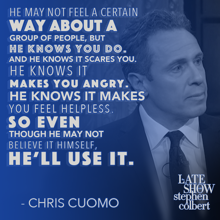 .@ChrisCuomo explains why President Trump is a demagogue. #LSSC
