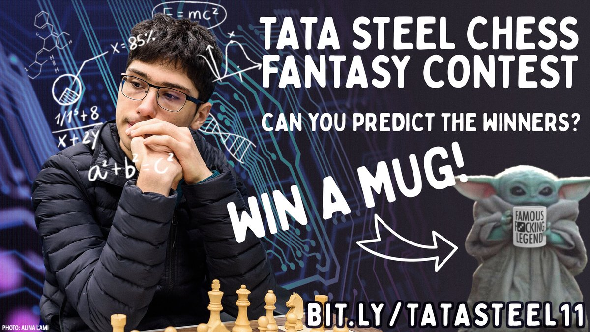 test Twitter Media - Last chance to try predicting what's going to happen in Round 11 of the #TataSteelChess Masters! It's mainly for fun, but the winner gets a coveted #FFL mug: https://t.co/ncHtqDlmp1  #c24live https://t.co/fUFssZdg5A