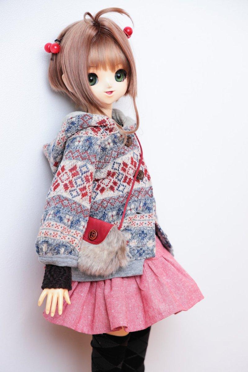test ツイッターメディア - ドールショウで買ったこげ茶のセーター(袖しか見えてないけど) https://t.co/R31NRrv5Tr