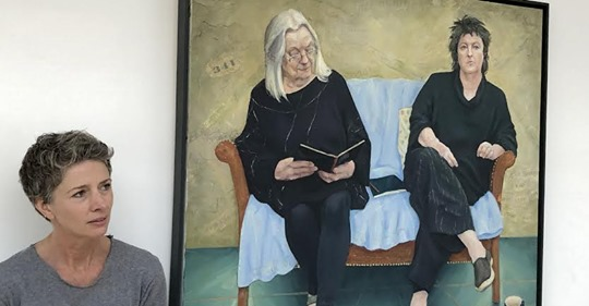 """test Twitter Media - """"Poetry is once again cool. Portraiture is hot. Or is it the other way round? Claire Eastgate has hit a rich seam of subjects for a collection of portraits that celebrate the lives and work of some of this country's finest female poets.""""  https://t.co/fR9fv0FOSo https://t.co/VHnpagA5Jx"""
