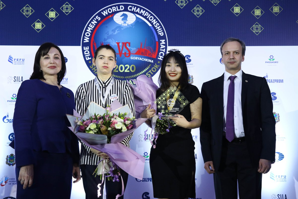 test Twitter Media - Long live the Queen! #WomenChessMatch  📸: Eteri Kublashvili / CFR https://t.co/GNLyeMxPUP