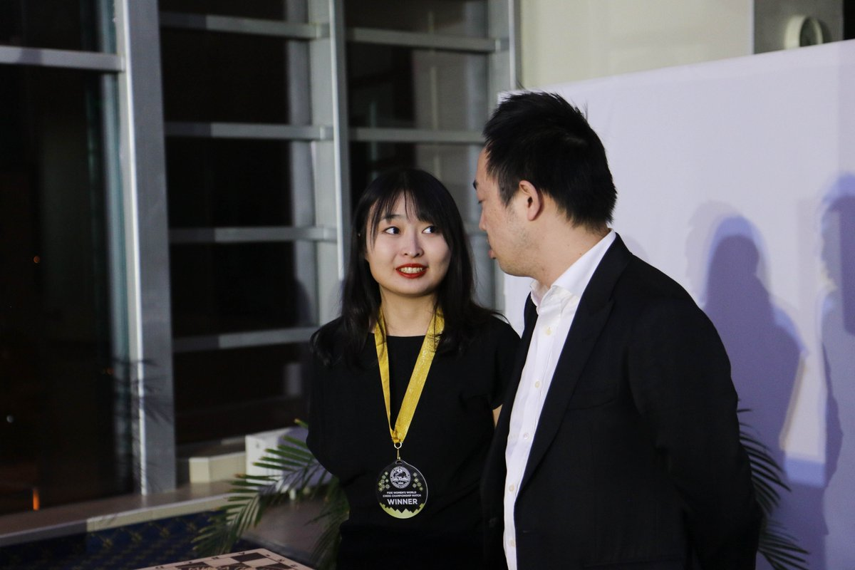test Twitter Media - Women's World Chess Champion 2020, Ju Wenjun   #WomenChessMatch https://t.co/vtYQGdlSLu