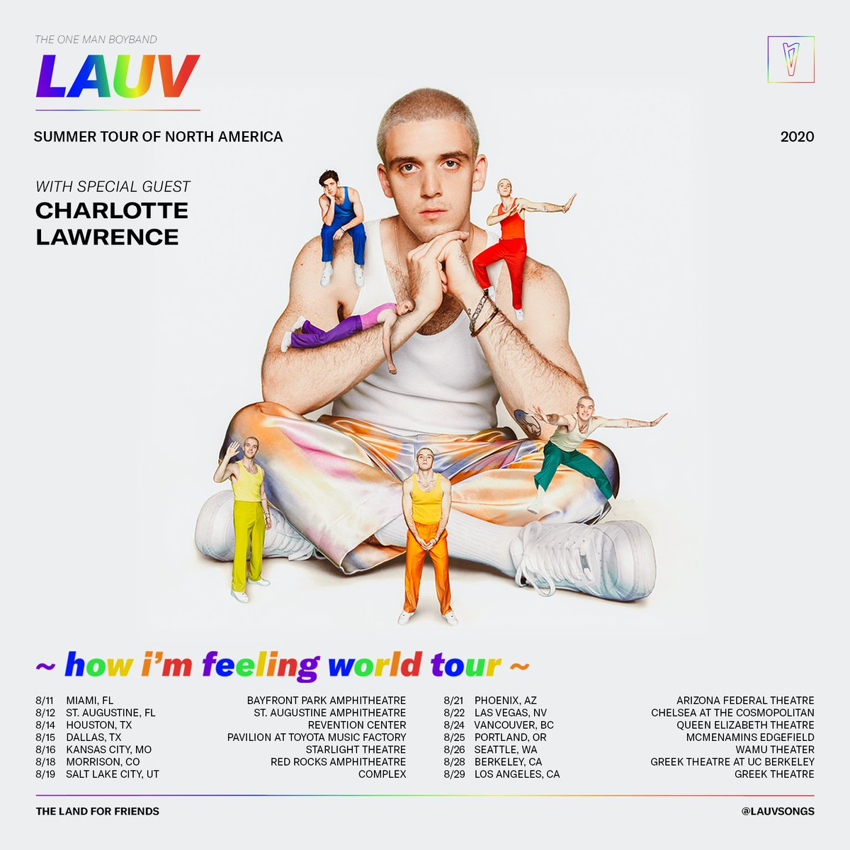 ROUND 2 BABIES LETS GOOOO🌈so excited to be joining @lauvsongs