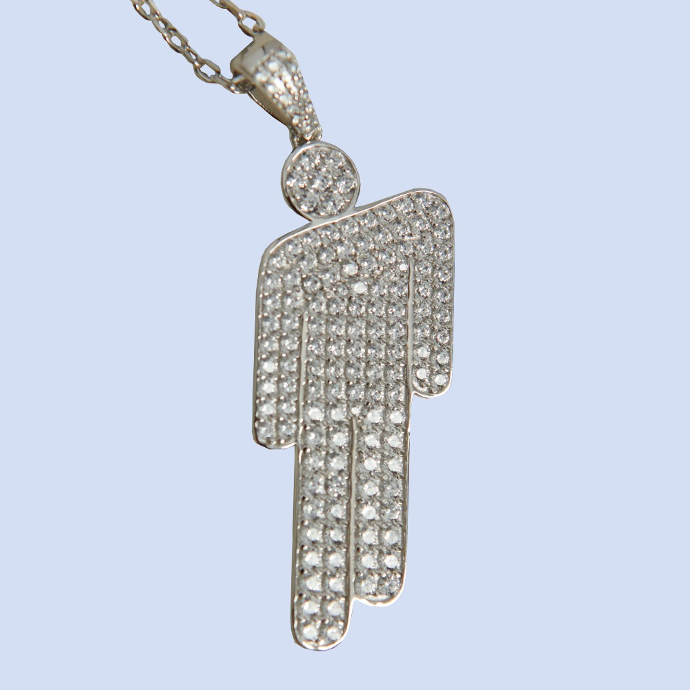 blohsh pendant necklaces are available now in Billie's official store.