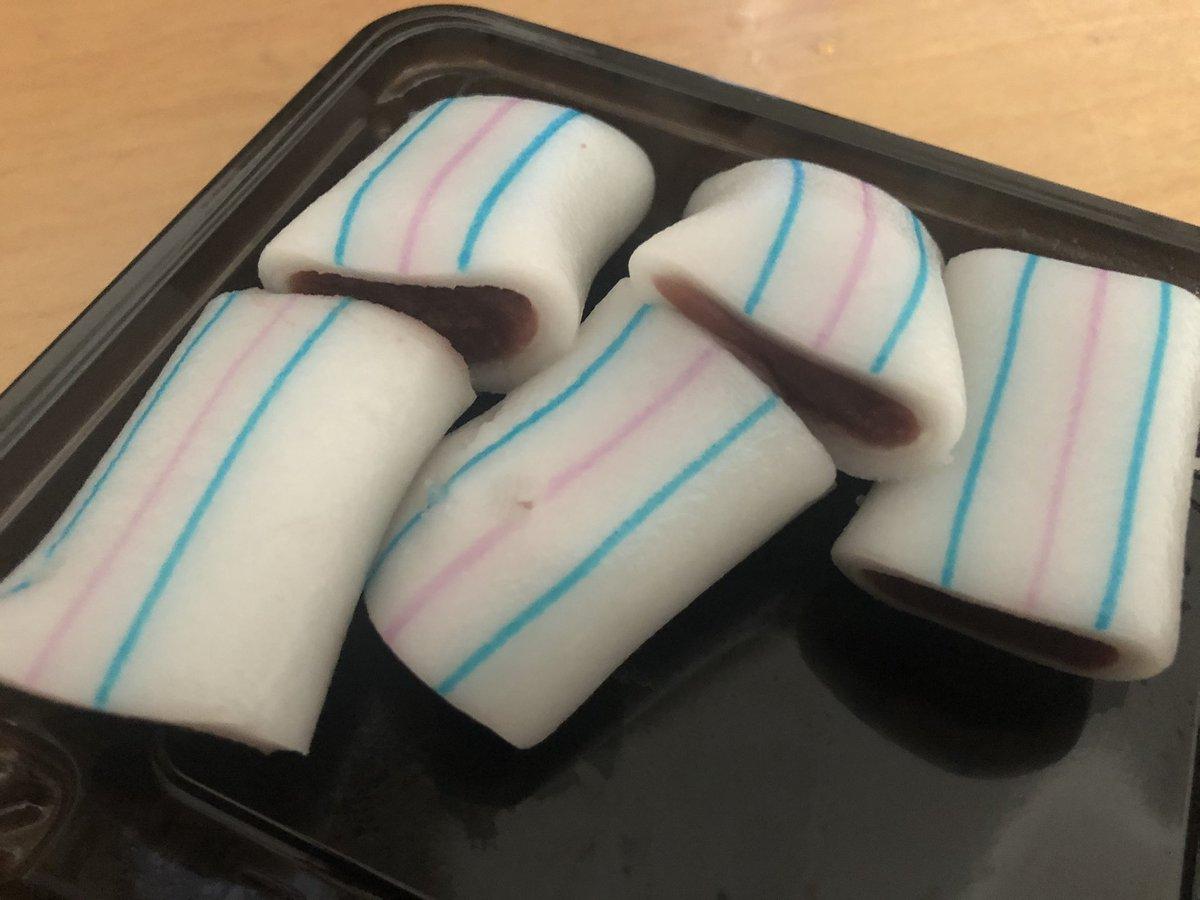 test ツイッターメディア - 滋賀県の糸切餅。かわいい飴ちゃんみたいやけど、違います。 https://t.co/lTbM3slUDq