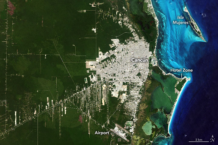 test Twitter Media - Once one of the poorest regions of #Mexico, Cancún is now a bustling tourist city with millions of visitors each year. https://t.co/NyGlaTvKr1 #NASA #Landsat https://t.co/NlqW00nhUk