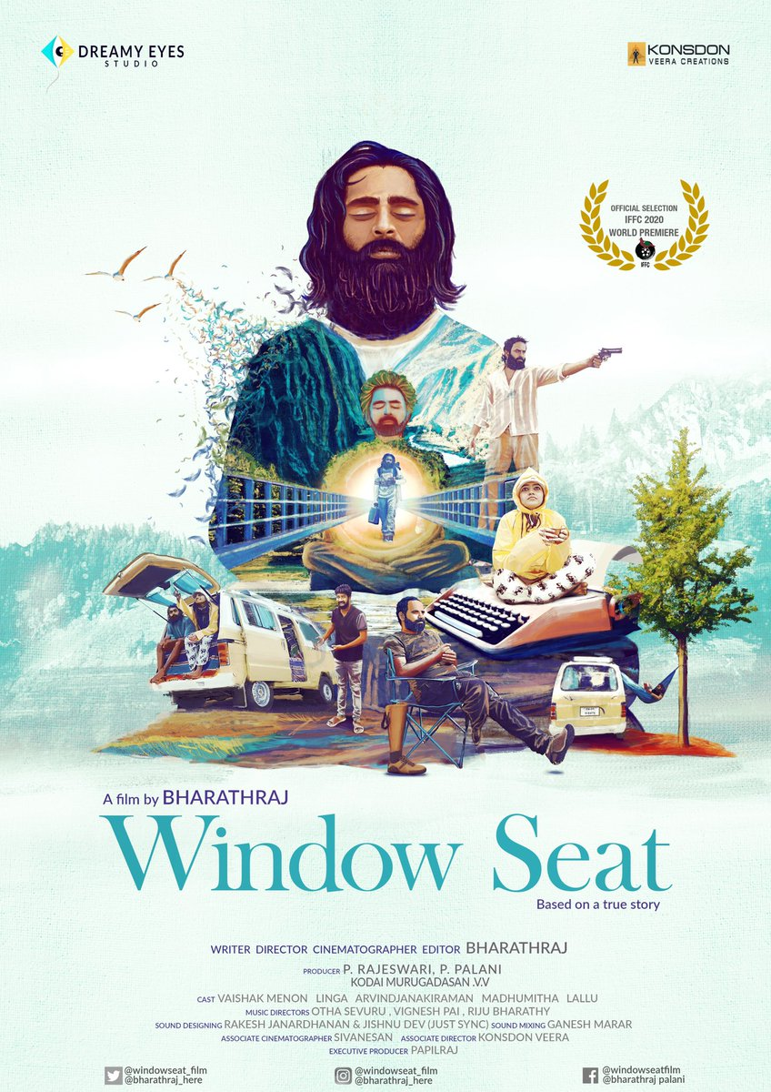 Congrats da @linga_offcl  & team #WindowSeat Independent Feature Film.  @bharathraj_here @WindowSeat_film @dreamyeyesoffl