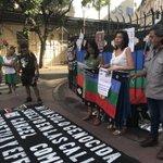 Acto al cumplirse 26 meses del asesinato de Rafael Nahuel. https://t.co/Cza7eBBxP7
