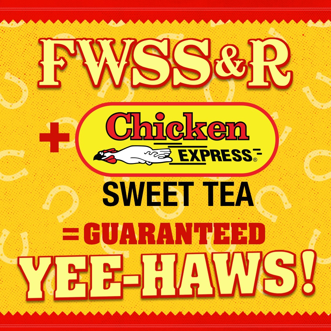 It's rodeo season! If you're headed to @fwssr we've got the answer to your road trip cravings. Visit our stores in the surrounding Dallas/Ft Worth area. Check Facebook for location details!  #ChickenE #CowboyUp #Poultry