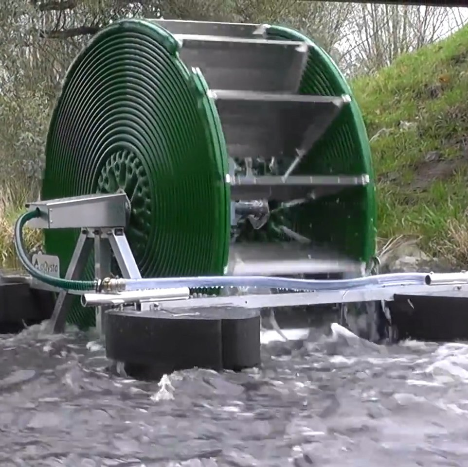 💦   This Water Wheel can pump  12,000 gallons per day  to a village a mile away  without using any electricity.    💦  #Tech #Innovation #CleanWater #Wow #ThursdayThoughts   https://t.co/2tynn5RLM3