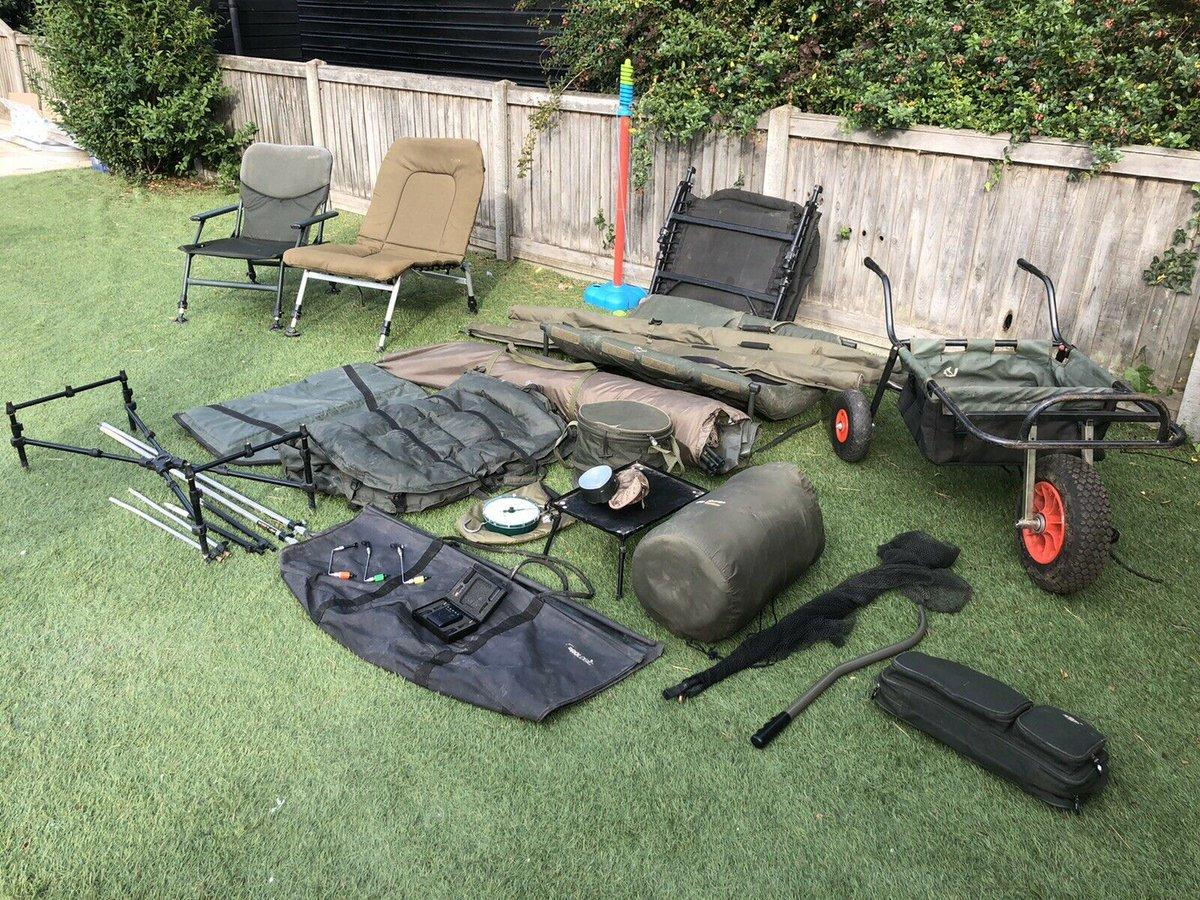 Ad - Carp fishing set up for sale On eBay here -->> https://t.co/dB7OHGtQVH  #carpfishing http
