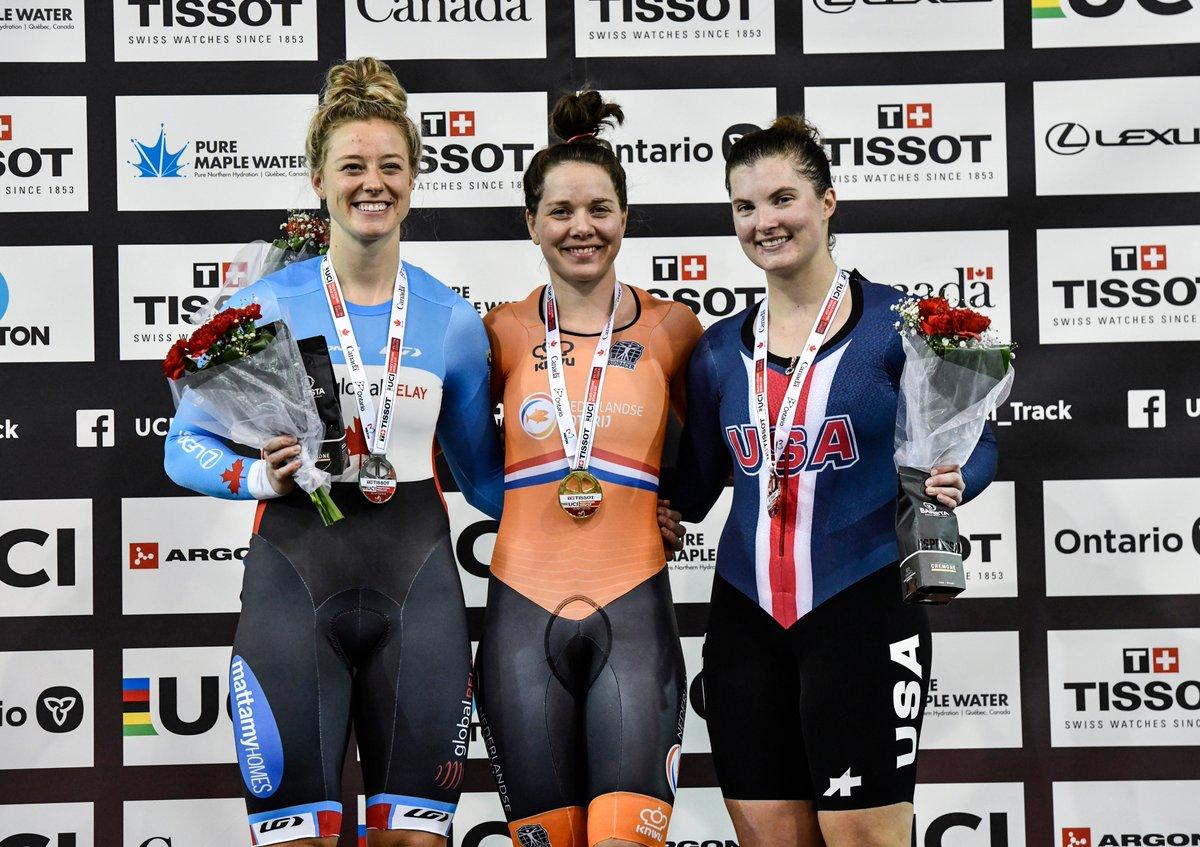 test Twitter Media - 🇨🇦 Kelsey Mitchell a donné une performance spectaculaire lors de l'épreuve de Sprint ce qui a ajouté une quatrième médaille pour nos Canadiens #TissotUCITrackWC   📰 https://t.co/LtQJJlTswf https://t.co/qYgoNqRu84