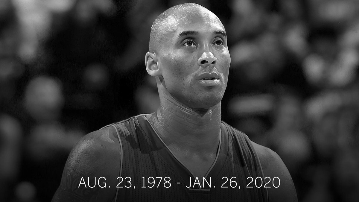 Kobe Bryant was killed Sunday in a helicopter crash, as first reported by TMZ and confirmed by @wojespn.  He was 41.