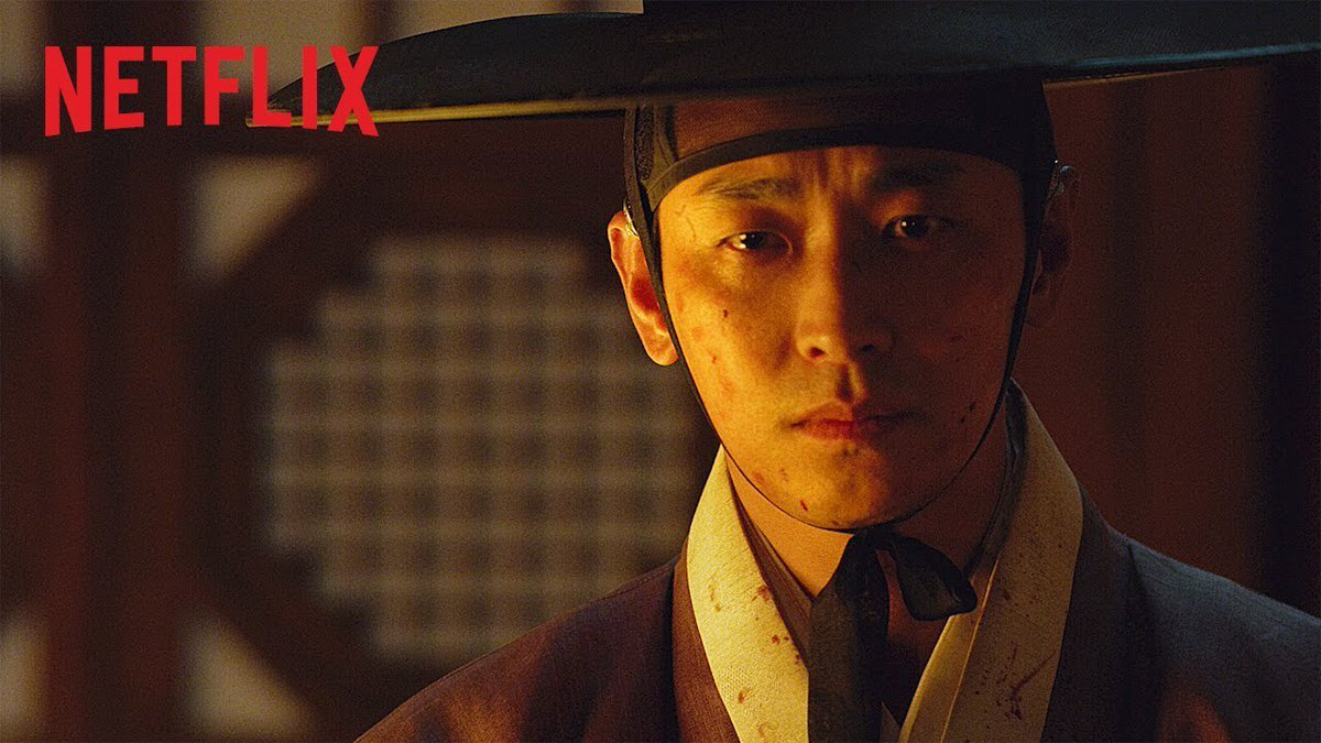 "So @netflix Korean zombie show Kingdom really is a Trump metaphor. The King's a zombie, eating people, but his handlers are like: ""Hey he's still twitching so he's still the damn King! STFU about the eating!"""