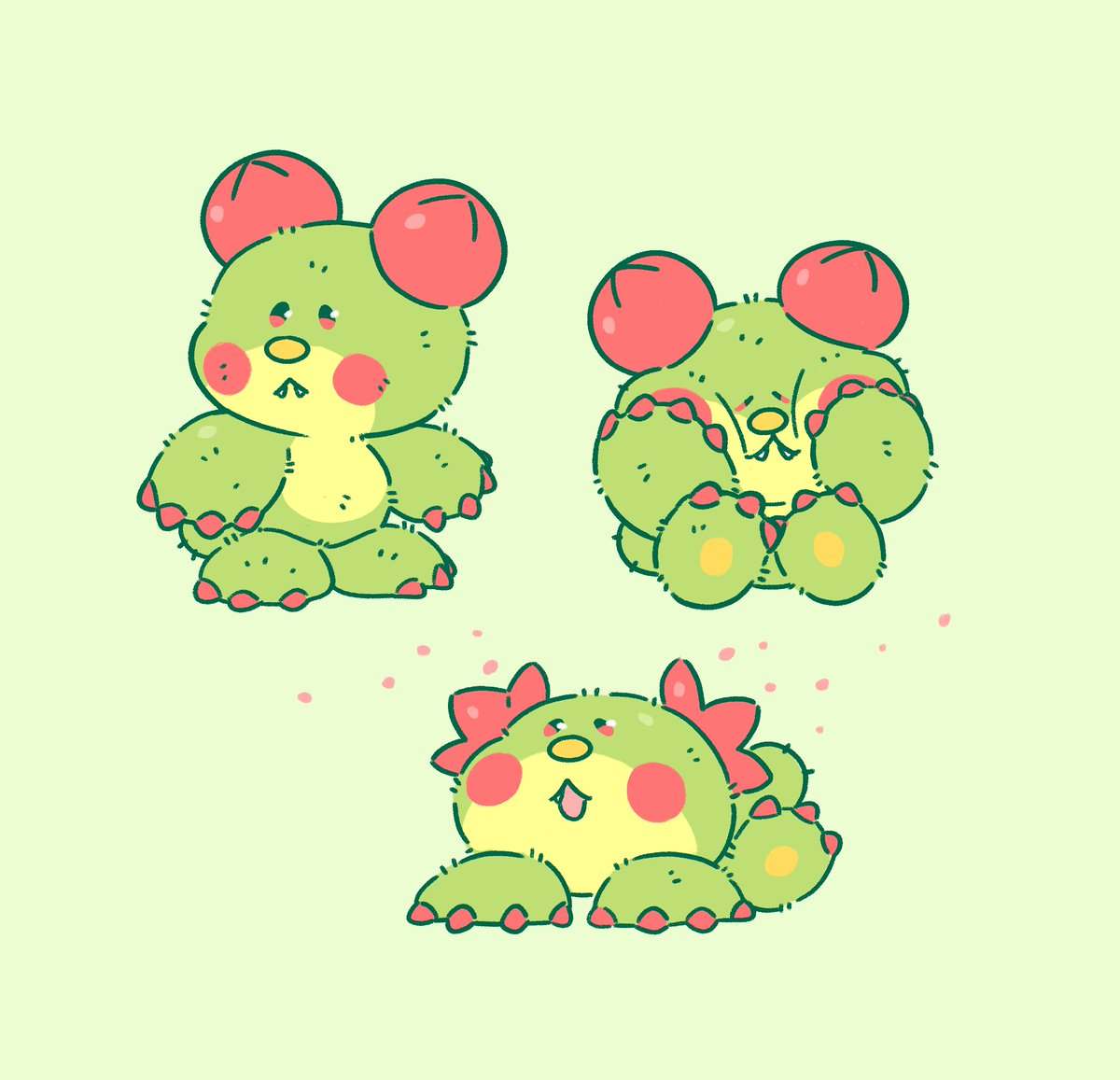 been thinking about bear paw cactus