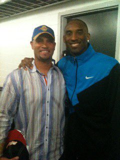 Wow what a loss for us all. I enjoyed the times I was able to connect with Kobe over the years. My prayers go out to his beautiful family. 🙏🏻 @kobebryant #heavyheart https://t.co/8XiYbpLWob