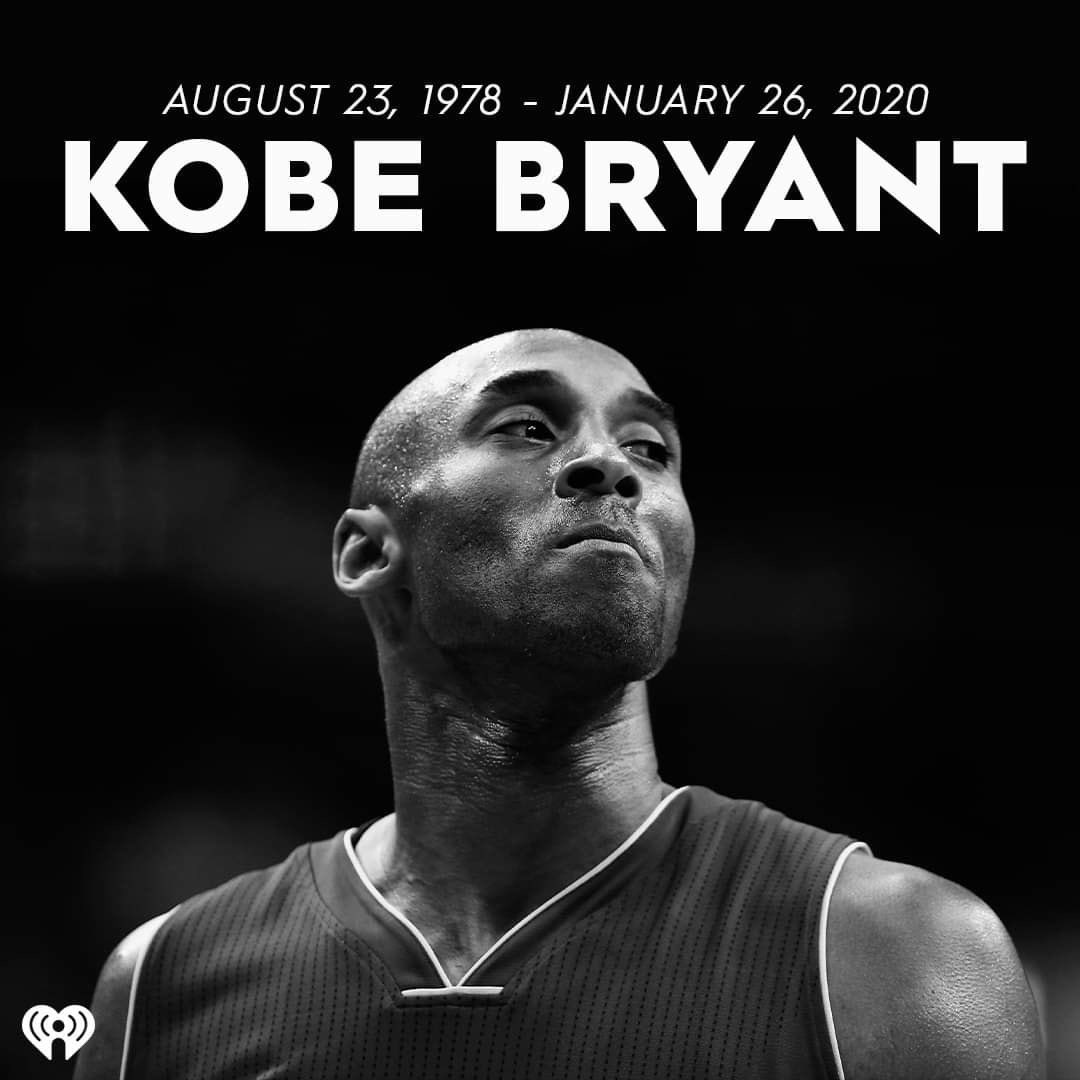 Can't believe it...RIP #KobeBryant 😢  #BlackMamba