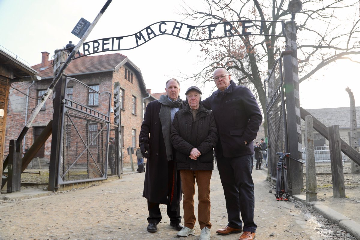 Sorry for the change.   #NeverForget our story from @AuschwitzMuseum will now run Tuesday morning @TODAYshow