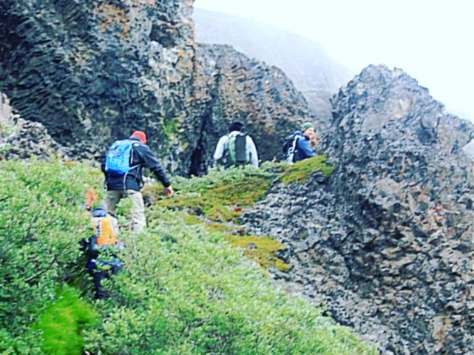 test Twitter Media - Trail walking on a a foggy day to the volcanic rock structures of Kuanit... NEW BLOG at: https://t.co/7Vlr3ijvBv . #travel #wandelgek #adventure #greenland #69north #outdoor #trailwalking #trails #edgeofthewild #arctictrails #qeqertarsuaq  #greenlandtravel  #longdistancewalks https://t.co/sd0ep9PXXV