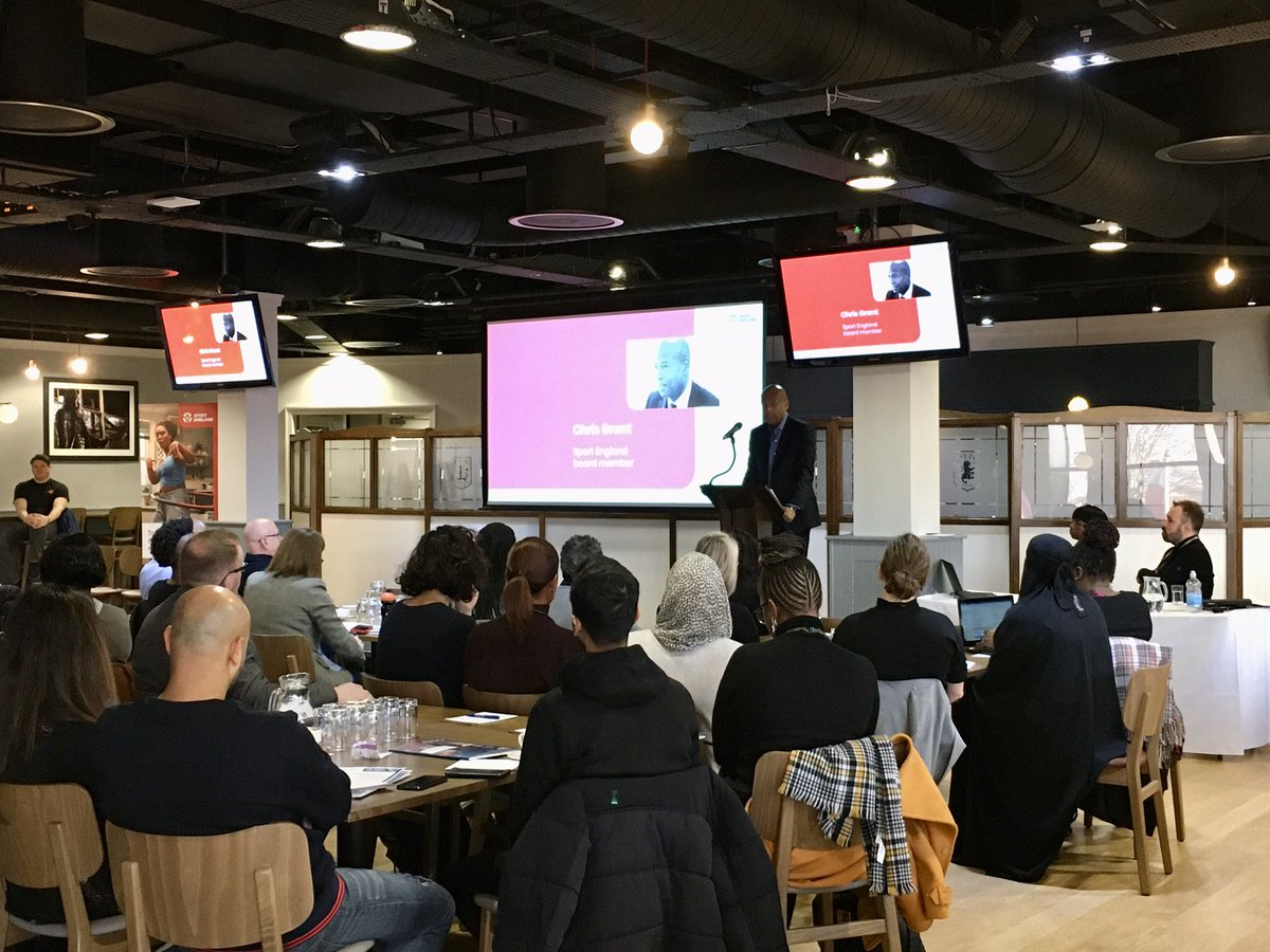 RT @Sport_England: It's great to be at the #SportForAll conference in Birmingham, bringing together experts and organisations with an interest in growing the participation of BAME people in sport.