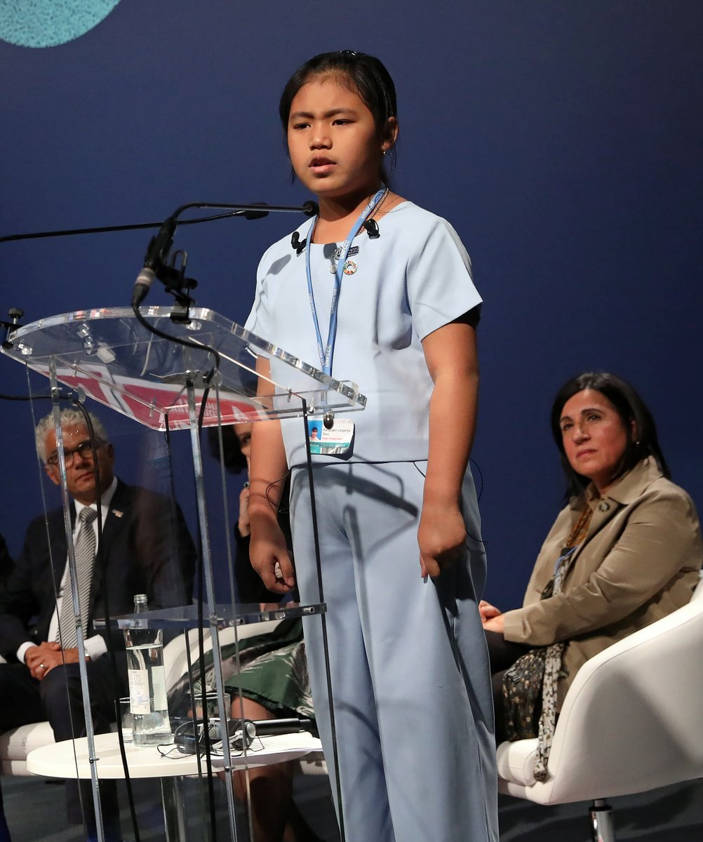 """8-year-old Indian climate activist Licypriya Kangujam called out the media for calling her the """"Greta of India,"""" saying: """"We have common goal but I have my own identity.""""  """"If you call me """"Greta of India,"""" you are not covering my story. You are deleting a story."""""""