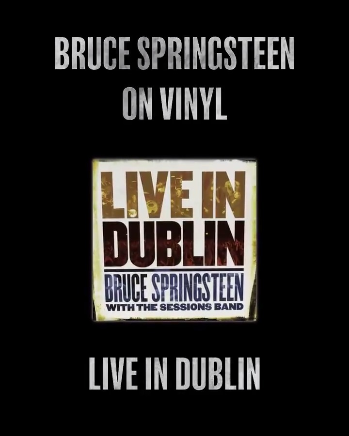 Live In Dublin releases on vinyl for the 1st time on 2.21. Recorded in concert w/ The Sessions Band in 2006, this album presented classic folk songs popularized by Pete Seeger as well as radically rearranged versions of Springsteen favorites. Pre-order now