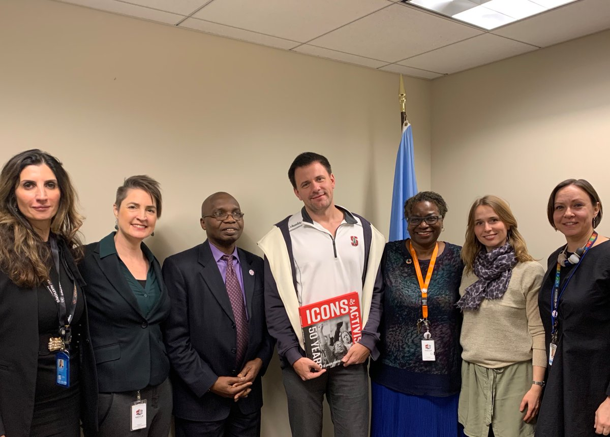 test Twitter Media - #ArtificialIntelligence  #MachineLearning  Great discussion @UNFPA today w Dmitry & Kamila from top app @flotracker, re using technology to provide accurate, life-affirming information to engage women and girls around the world 🌍🌎 — translated into a language of their choosing! https://t.co/d97XtO3Tjg