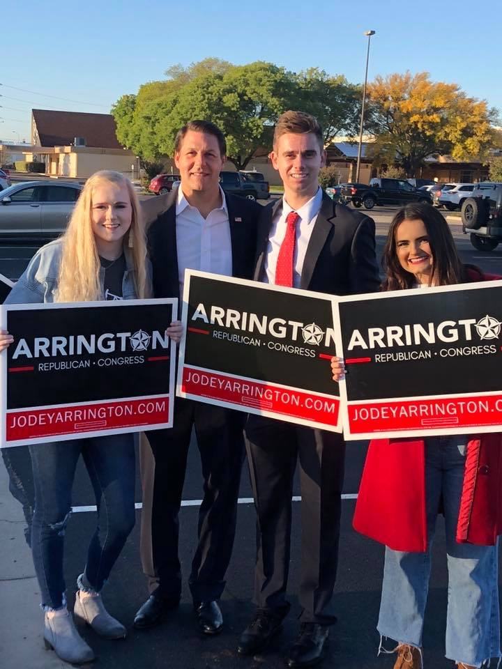 Don't miss out on getting an Arrington sign for your yard or business! Click below to let us know that you want to display your sign supporting conservative leadership and West Texas values. We will come put it up for you ASAP!