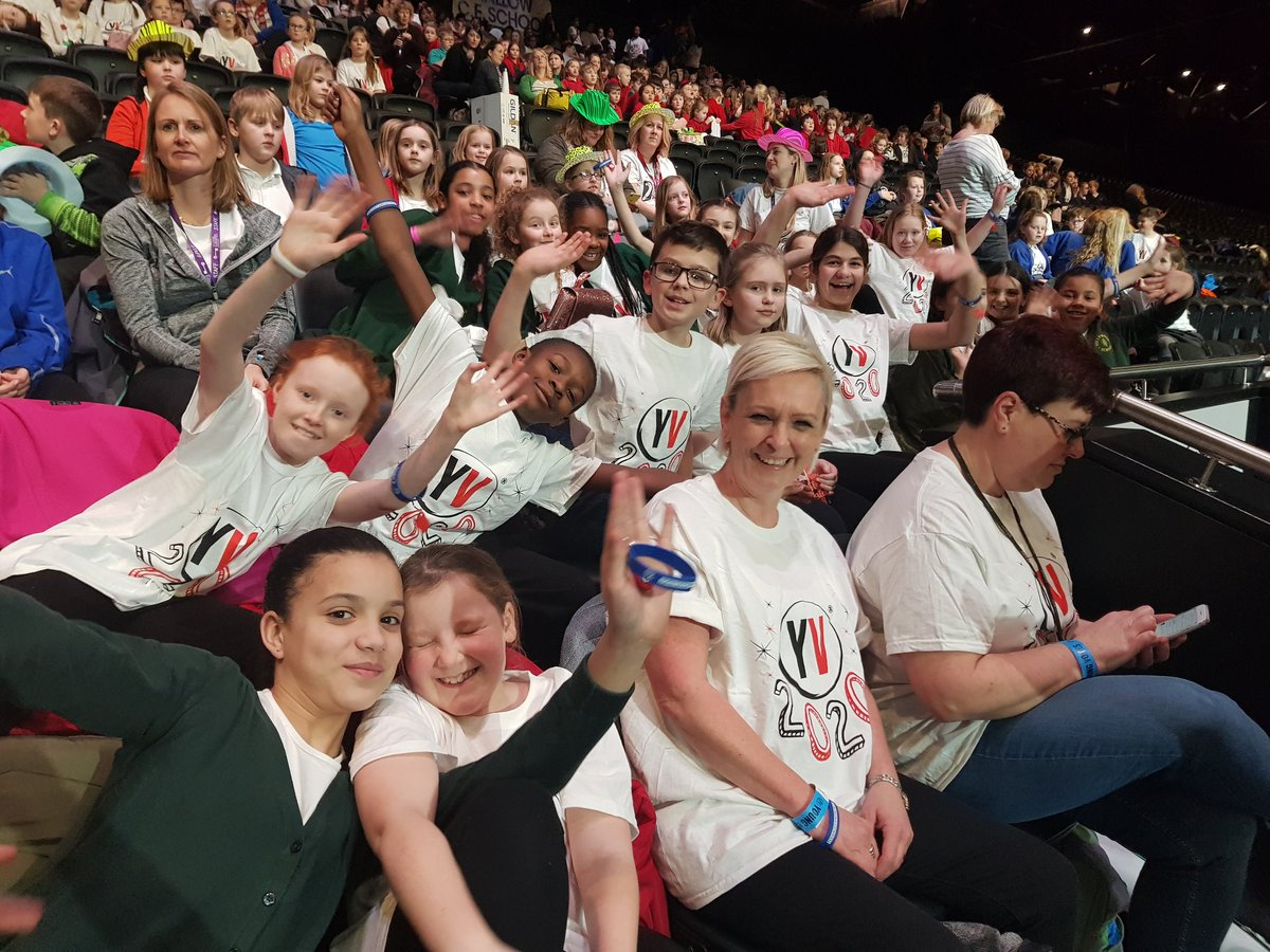 test Twitter Media - Hollywood are all ready to rehearse @YVconcerts at @RW__Arena! Great seats for us this year too! https://t.co/xKVc7fJ2lp