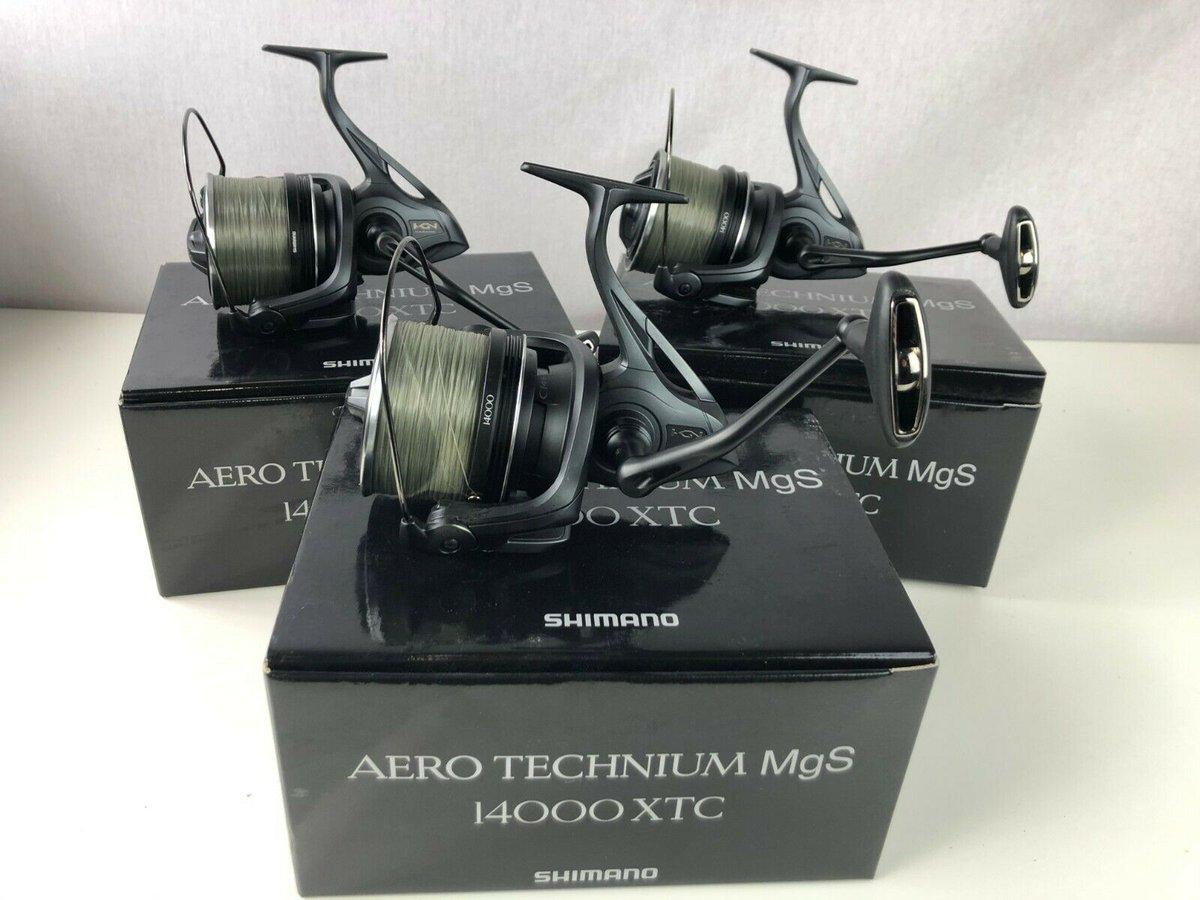 Ad - Shimano Aero Technium 14000 XTC Reels x3 On eBay here -->> https://t.co/syp7dN9woQ  #carp