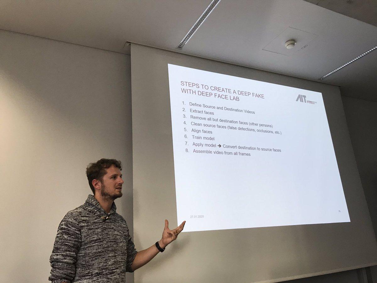 test Twitter Media - Gestern gab es einen Gastvortrag von Dr. Alexander Schindler vom AIT über #DeepLearning mit Sound Events. @Slychief @AITtomorrow2day #AI #KI #DataScience https://t.co/LqF8ih1FHF