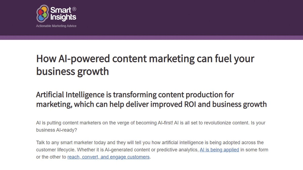 test Twitter Media - AI is putting content marketers on the verge of becoming AI-first! AI is all set to revolutionise content. Is your business AI-ready? https://t.co/g4Nb78ooHS #AI #ArtificialIntelligence https://t.co/0OlxMWHmUM