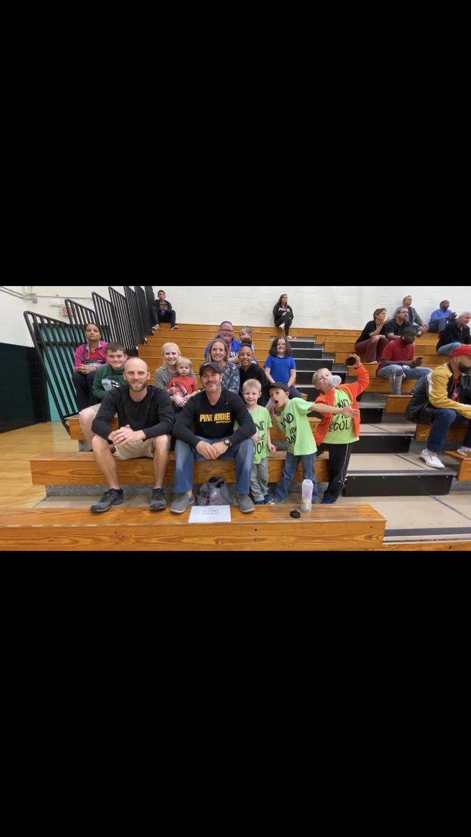test Twitter Media - Pride Elementary had a blast cheering on the Pine Ridge Panthers last night in their basketball victories over the University Titans!!! @Proud2BeAtPride @schoolsocialite @lislauren_lisa @PineRidgeHS @AthleticsRidge @_Coach_Rice_ https://t.co/F37Ava8H2X