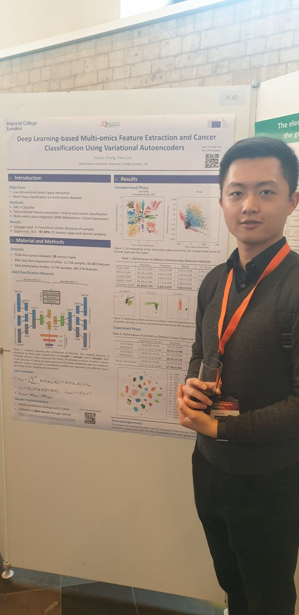 test Twitter Media - Our ESR Xiaoyu Zhang is now presenting his work on #deeplearning based #cancer classification using variational #autoencoders @DIATECH2020 @MSCActions @EU_H2020 https://t.co/KEoiB7Boou